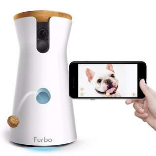 [IN-STOCK] Furbo Dog Camera: Treat Tossing, Full HD Wifi Pet Camera and 2-Way Audio, Designed for Dogs, Works with Amazon Alexa