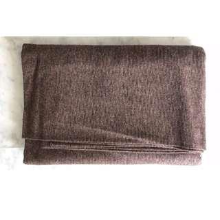 Brown Woolen Fabric