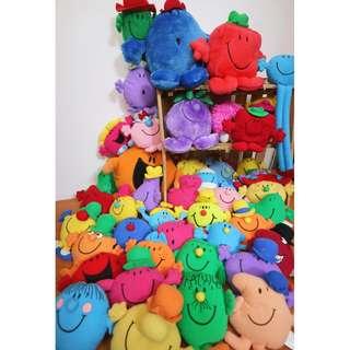 1999年 奇先生妙小姐 Mr. Men & Little Miss 美國玩具玩偶收藏 12-14cm 不等 正版絕版 (單售)