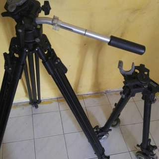 MANFROTTO TRIPOD WITH DOLLY