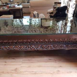 Antique Burmese coffee table