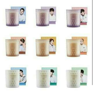 EXO NATURE REPUBLIC SCENTED CANDLE