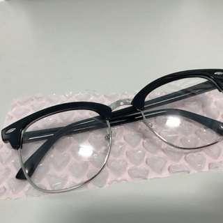 半框眼鏡(無度數)
