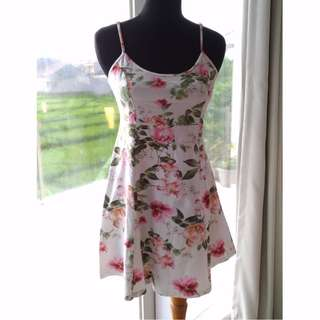 Floral Printed Mini Dress - Forever21