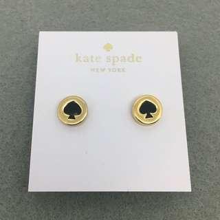 Kate Spade New York Sample Earrings 黑金色耳環