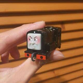限量扭蛋-湯瑪士小火車黑色車頭款