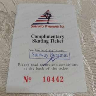 Sunway Pyramid Ice Skating Ticket