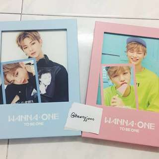 [WTS]WANNA ONE - TO BE ONE album Kang Daniel SET