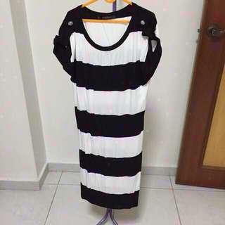 Osmose Stripes Dress