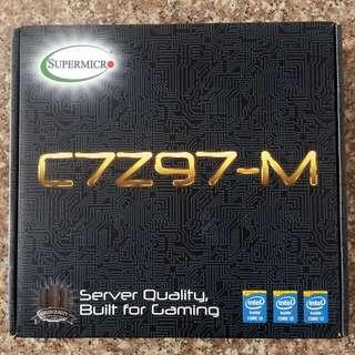 Supermicro Z97 MATX motherboard