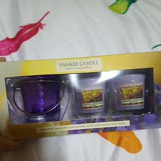 Yankee Candle lemon lavender gift set