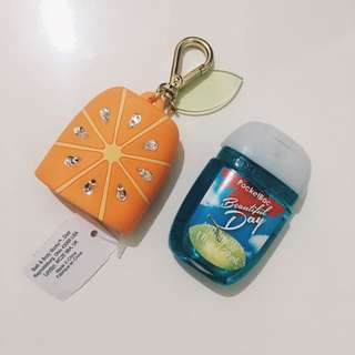 Bath & Body Works Pocketbac + Holder Bundle