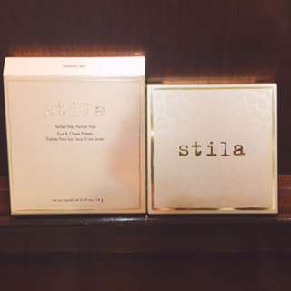 🚚 (含運)Stila perfect hue eye & cheek palette 眼頰彩盤 medium/tan