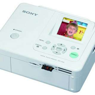 SONY Portable Photo Printer