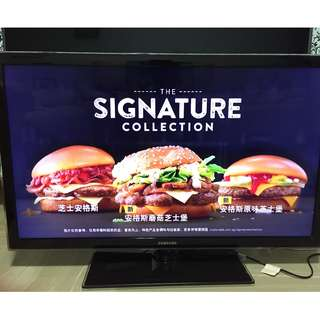 "Samsung 40"" LED digital smart tv"