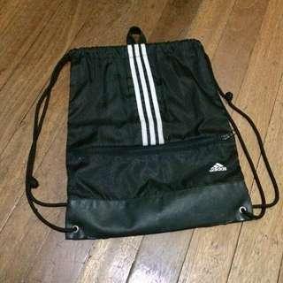 Adidas String Bag Black & White