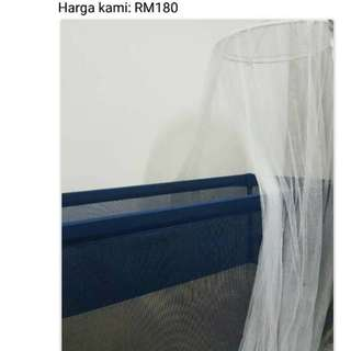 Ikea Baby Bed with mattress