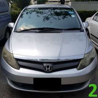 1-Month Contract Honda Airwave 1.5A