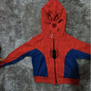 MARVEL SPIDERMAN HOODIE SIZE SMALL