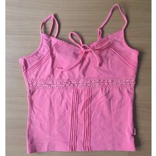 Pink Camisole Top by Esprit (Authentic)
