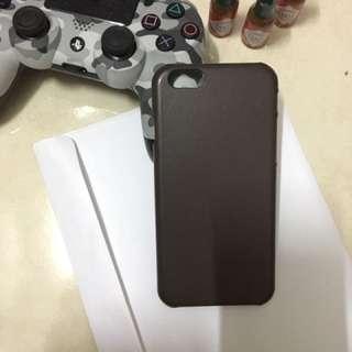 Iphone 6s Leather case - Dark Brown