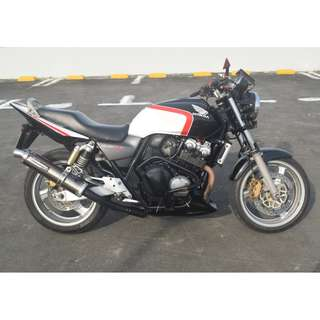 Honda CB400 Super4 Spec 3 with Yoshimura Exhaust