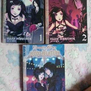 Vampire Kisses 1 to 3