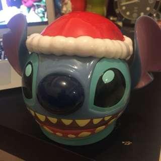 史迪奇 聖誕節限定 糖果罐 玩具盒 迪士尼