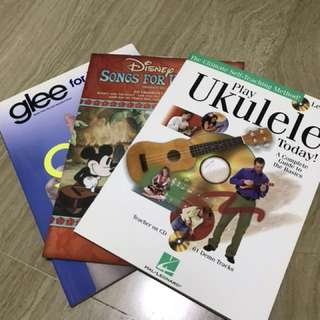 Books for Ukulele