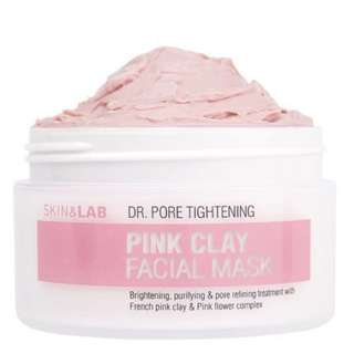 [INSTOCK] SKIN&LAB DR.PORE PINK CLAY FACIAL MASK
