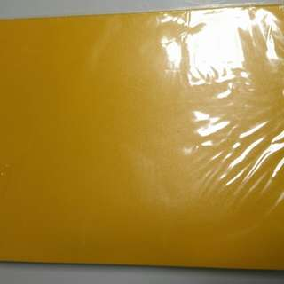 Yellow A4 2 Ring File