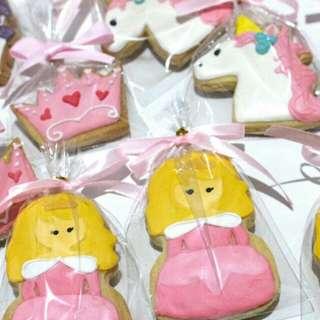 Princess Character + Unicorn Cookies
