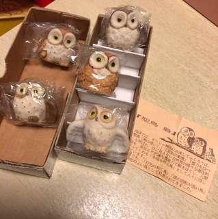 陶瓷貓頭鷹擺設