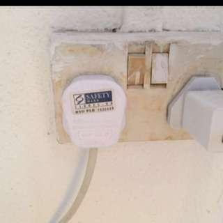 switch/power socket /fan/light/heater