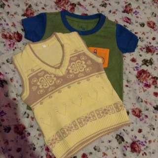 Baby Shirt & Sleeveless