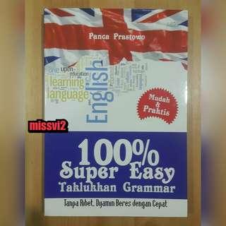 100% Super Easy Taklukkan Grammar by Panca Prastowo