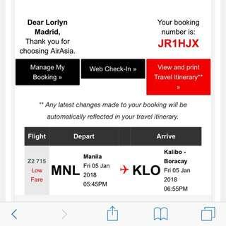 Airasia Ticket