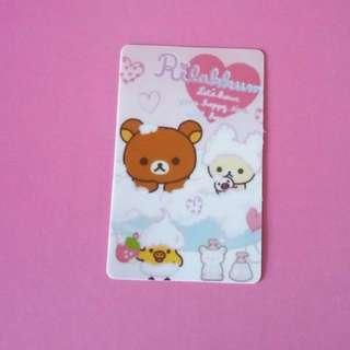 Rilakkuma Ezlink card sticker