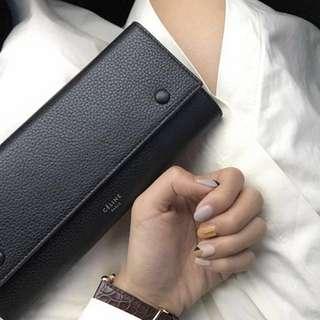 Celine 雙色皮夾