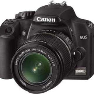 Canon 1000D - complete box