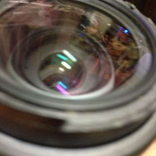 Pentax 28 105mm af pk len 鏡頭 無配件 前緣破