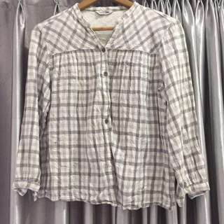 Kotak abu blouse