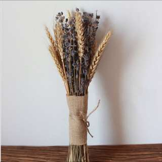 Wheat & Lavender Bouquet