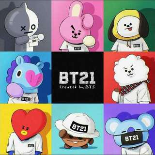 [PO] BT21 Group Order