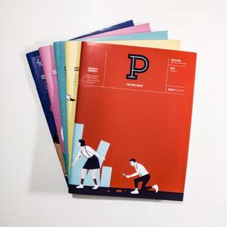 Present Perfect Magazine Full Set