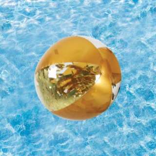 Inflatable Glitter Ball - Gold
