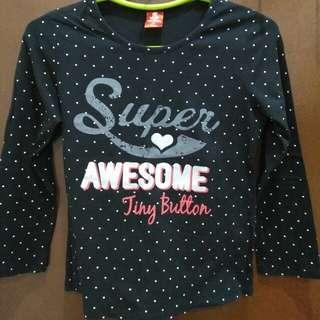 Tiny Button Kids Shirt