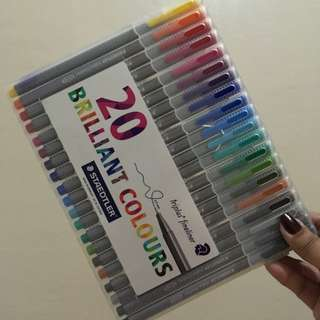 Staedtler Brilliant Colours - 20pens