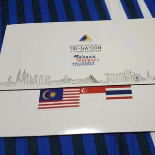 TRI - NATION 3rd stamp exhibition