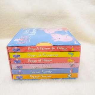 New - Peppa Pig kid book set